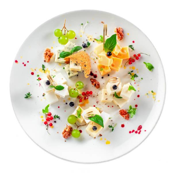 チーズの盛り合わせ - フランス料理 ストックフォトと画像