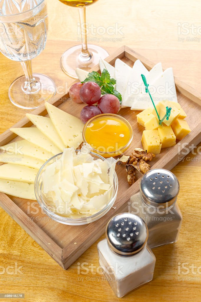 Cheese Platter Snacks And Wine Stock Photo Download Image Now Istock