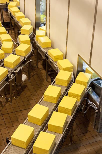 Käse Bearbeitung factory – Foto