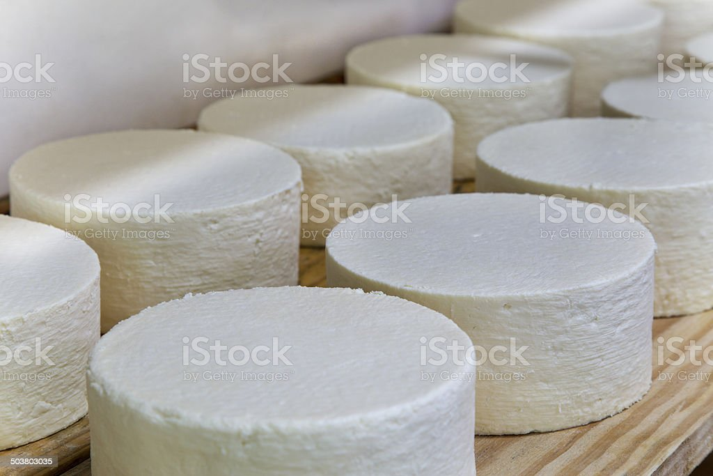 Cheese production in Minas Gerais, Brazil royalty-free stock photo