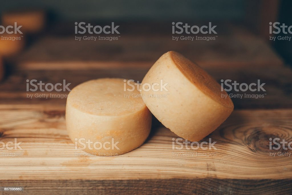 cheese production stock photo