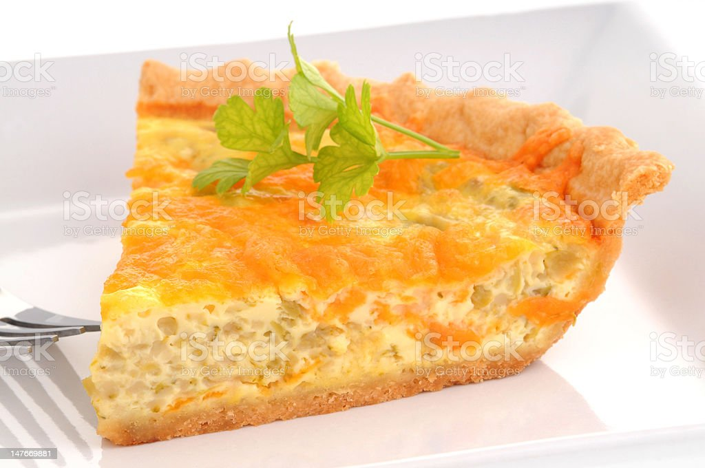 Cheese Quiche royalty-free stock photo