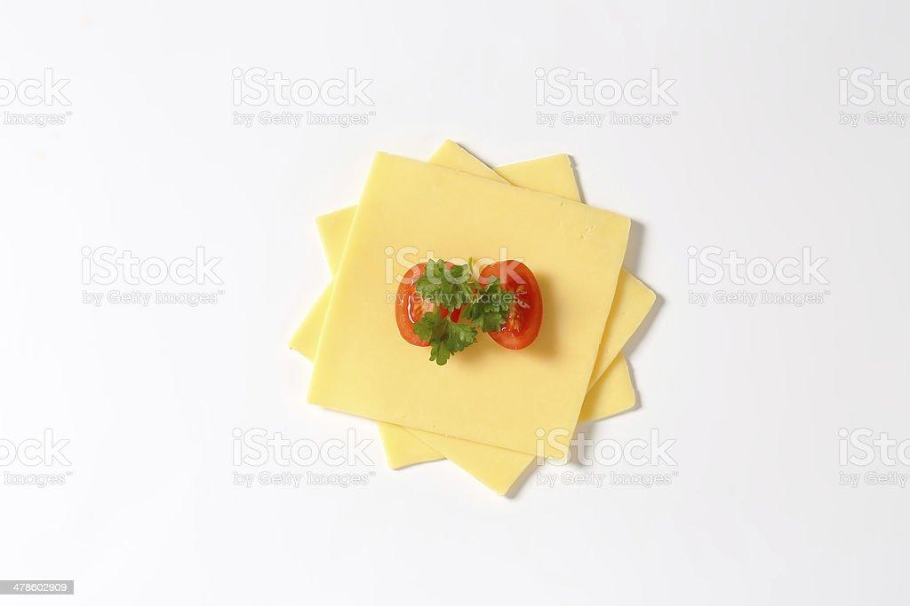 cheese slices stock photo