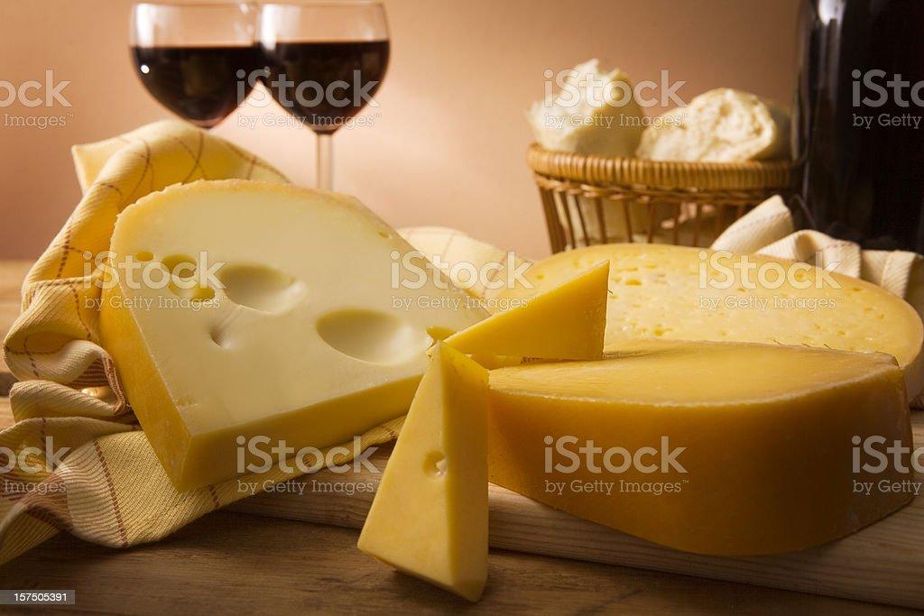 Cheese Stills: Gouda royalty-free stock photo