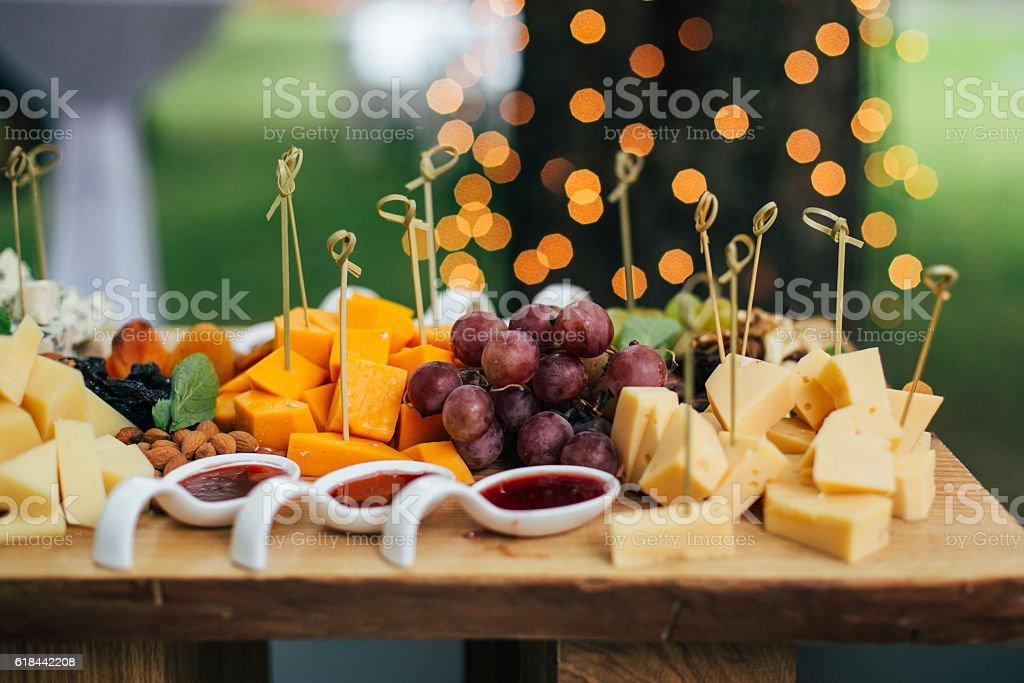 Käse-Tisch – Foto