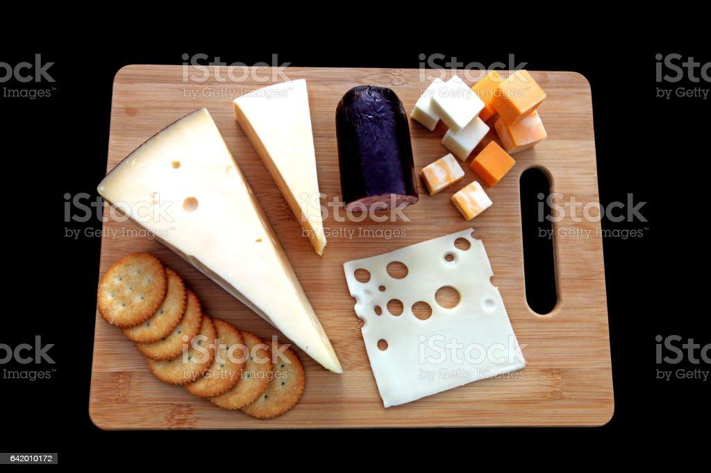 Cheese Variety stock photo