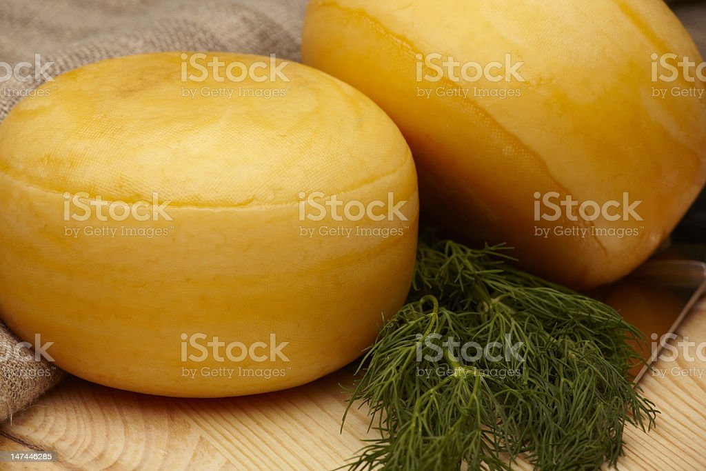 cheese wheels royalty-free stock photo