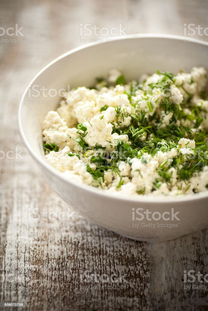 cheese with dill royalty-free stock photo