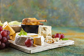 istock Cheese with nuts 914616470