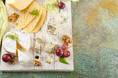 istock Cheese with nuts 914616476