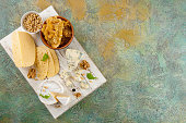 istock Cheese with nuts 914616482