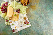 istock Cheese with nuts 914616500