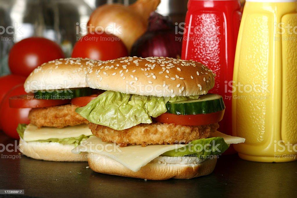 Hamburguesa con queso foto de stock libre de derechos