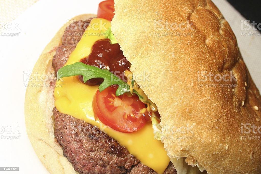 Cheeseburger zbiór zdjęć royalty-free