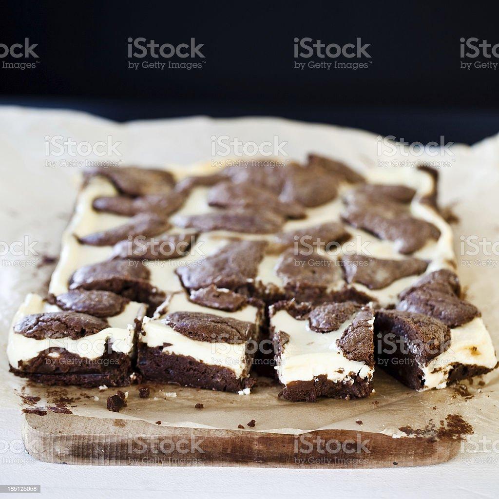 Käsekuchen brownies – Foto