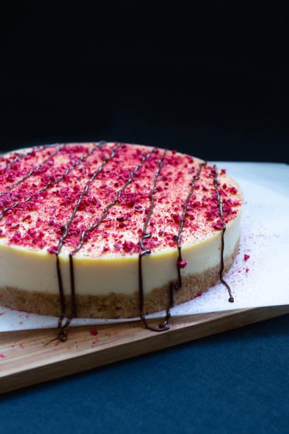 Cheesecake Dessert Torte mit Stevia – Foto