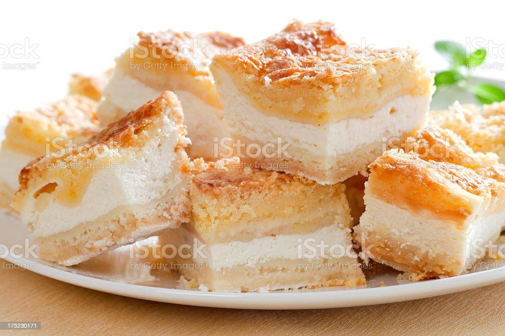 Cheesecake royalty-free stock photo