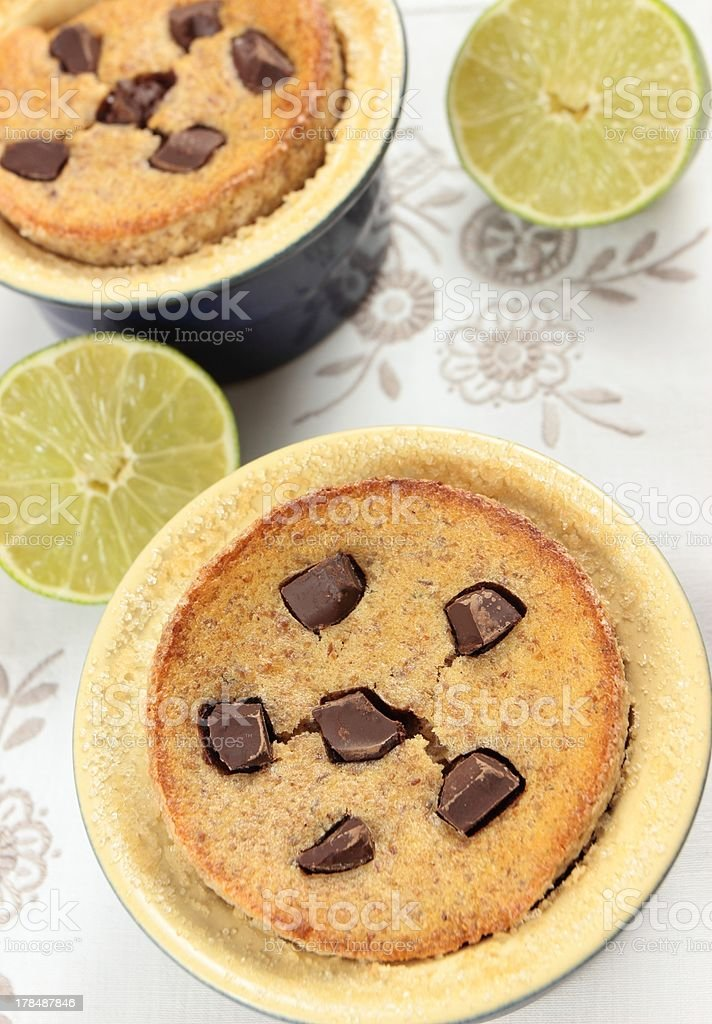 cheesecake with lime royalty-free stock photo