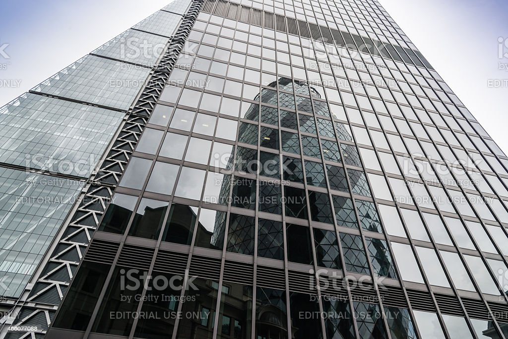 Cheesegrater building London stock photo
