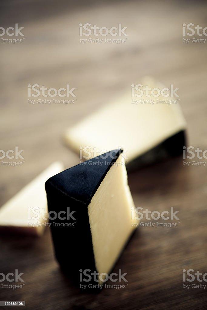Cheeses stock photo