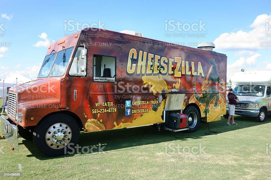 Cheesezilla Food Truck stock photo