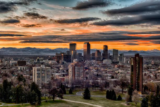 Cheesman Park View Denver, Colorado denver stock pictures, royalty-free photos & images
