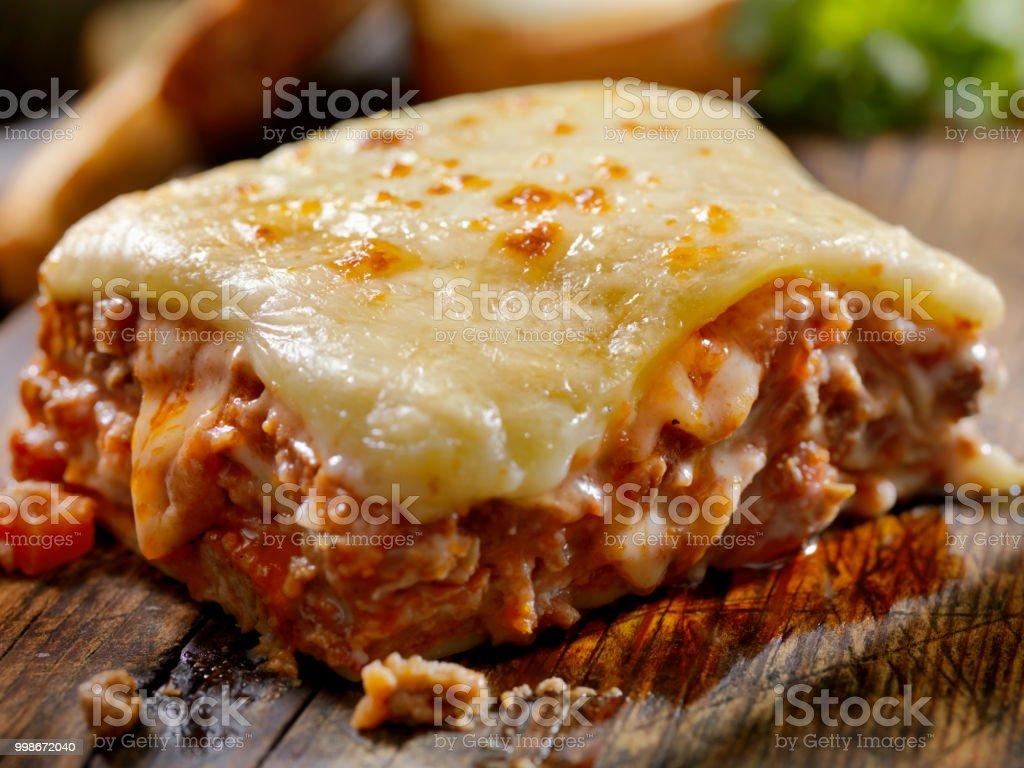 Kitschig, Rind- und Kalbfleisch Lasagne – Foto