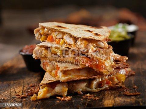 Cheesy Chicken Quesadilla