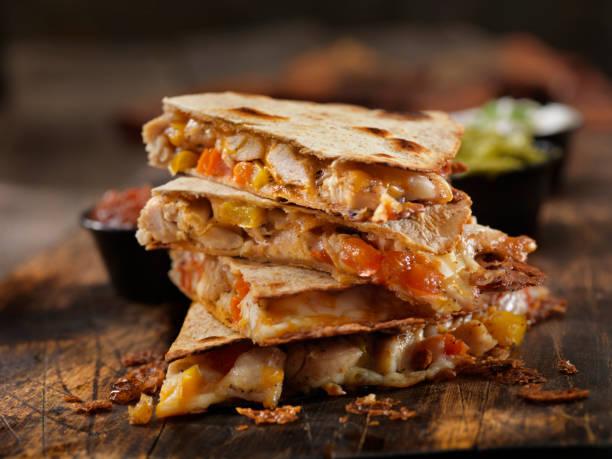 Cheesy Chicken Quesadilla – Foto