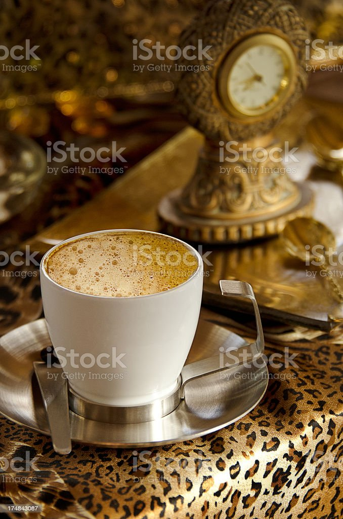 Cheetah Espresso royalty-free stock photo