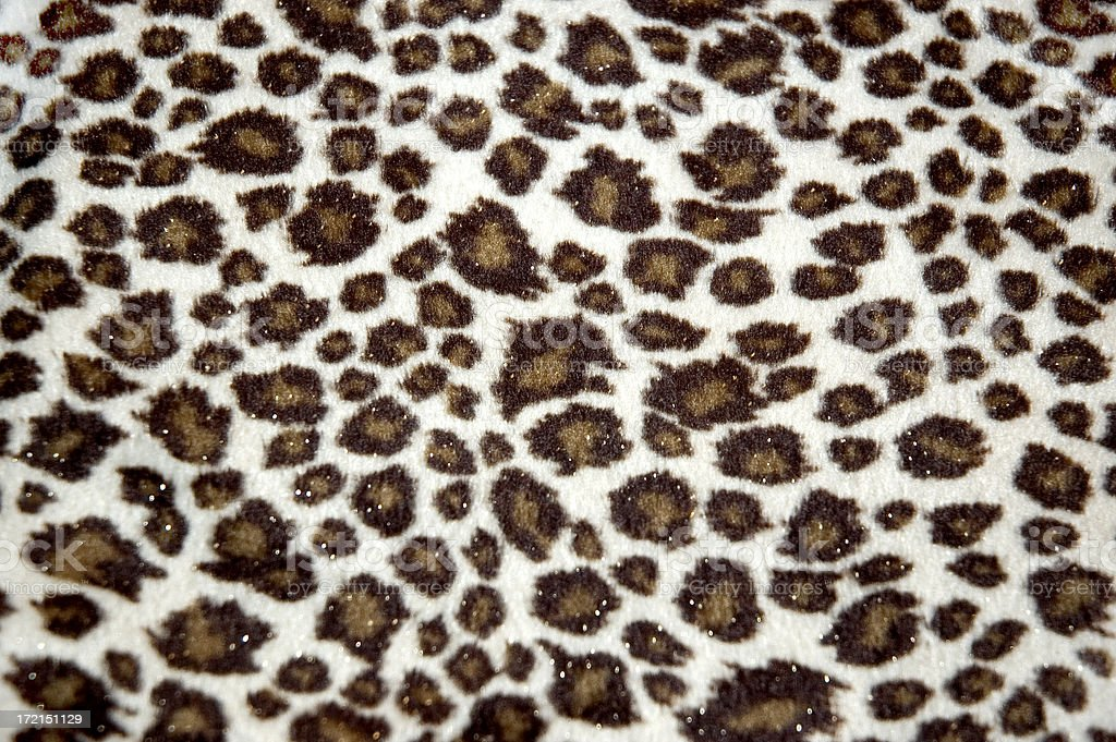 cheetah print fabric background stock photo
