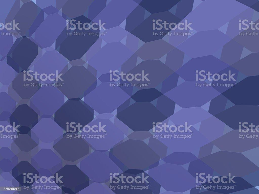 Cheetah Spots - Blue stock photo