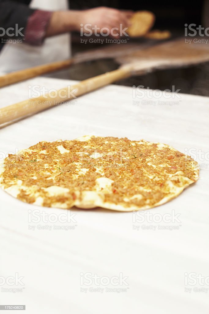 Chef cooking royalty-free stock photo
