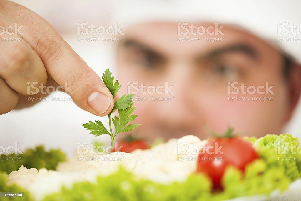 Chef toque final foto de stock libre de derechos