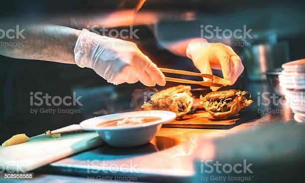 Chef finishing a meal picture id508958588?b=1&k=6&m=508958588&s=612x612&h=0fo4w3bxkrphlti hrvl66frqozfsjgs3cyca61q0km=