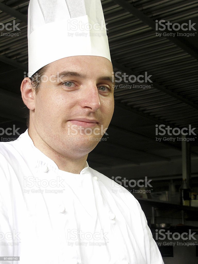 Chef Gabriel royalty-free stock photo