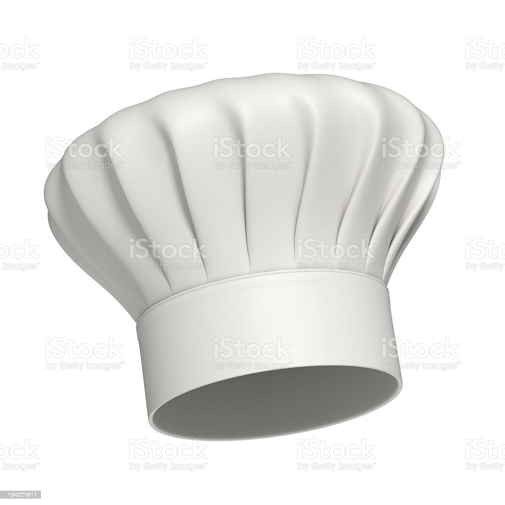 Chef hat Icon Isolated royalty-free stock photo