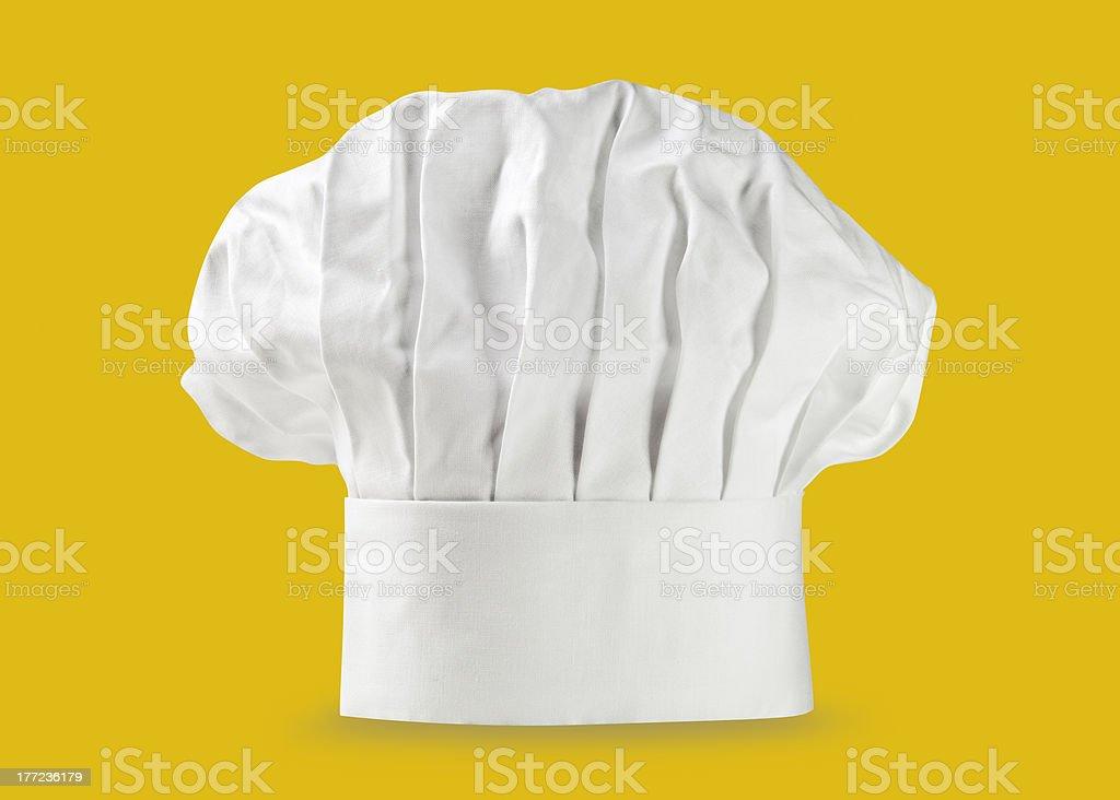 Chef hat or toque stock photo