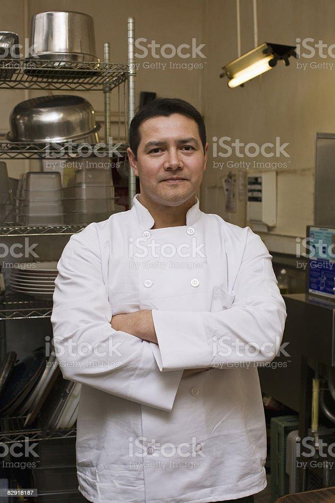 Meksykańskie Kucharz w restauracji zbiór zdjęć royalty-free