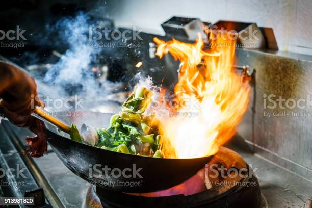 Chef in restaurant kitchen at stove with high burning flames picture id913931820?b=1&k=6&m=913931820&s=612x612&h=v3q9ffiuzxdumu61mkl747p4wo3d7hg  csgl75xmlm=