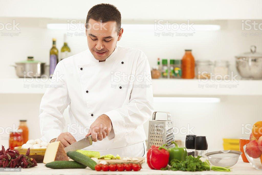 Chef royalty-free stock photo