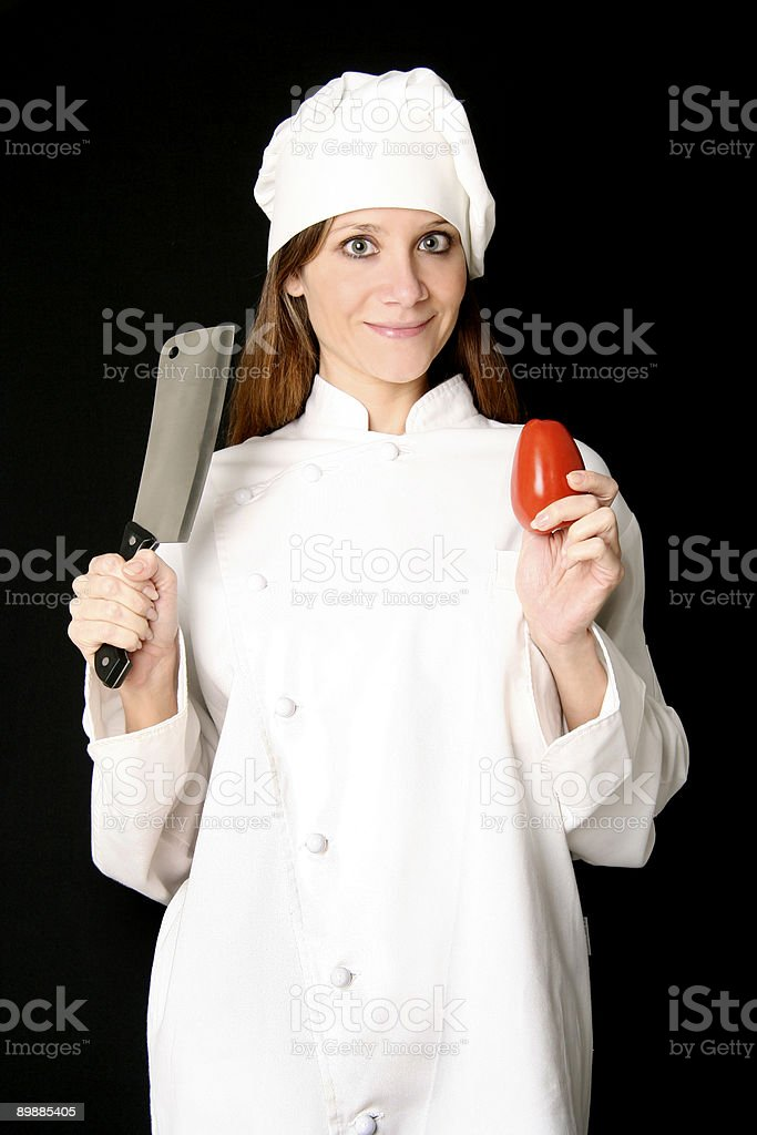 El Chef foto de stock libre de derechos