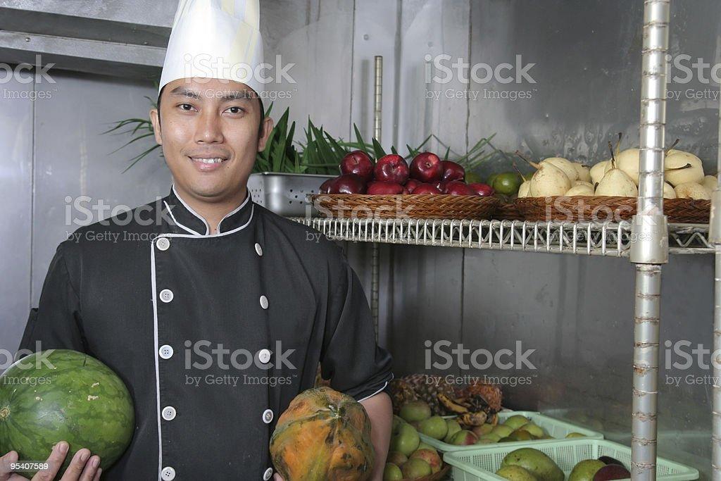 Chefkoch Lizenzfreies stock-foto