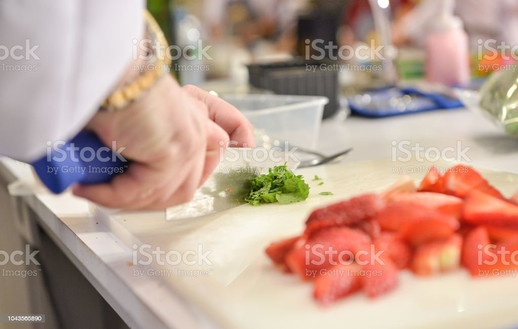 Chef preparing food, meal, in the kitchen, chef cooking, Chef...