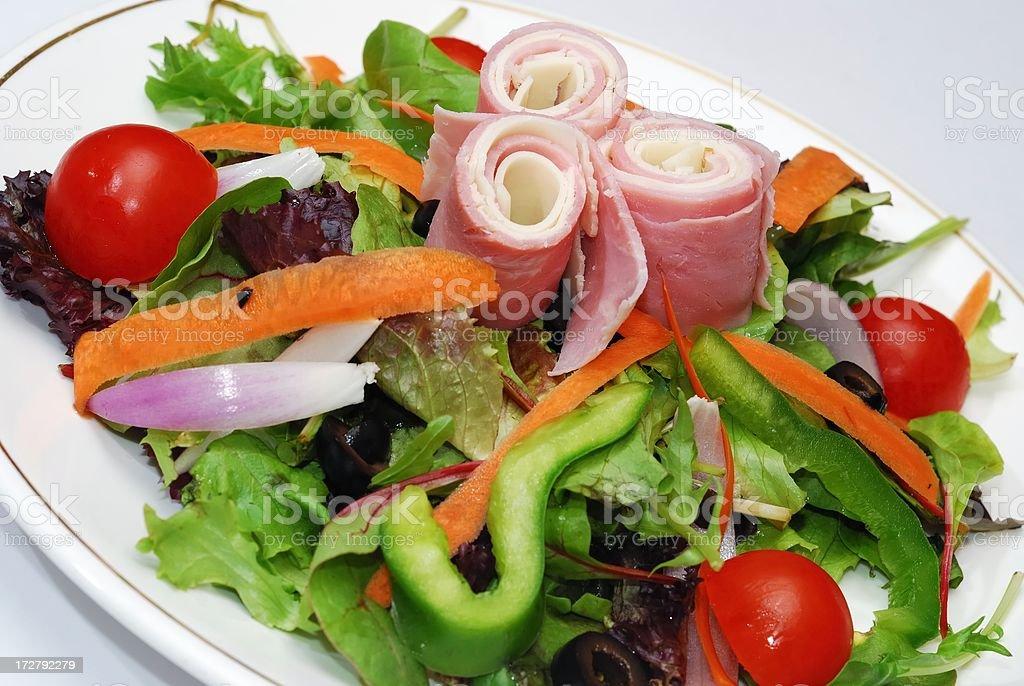 chef salad stock photo