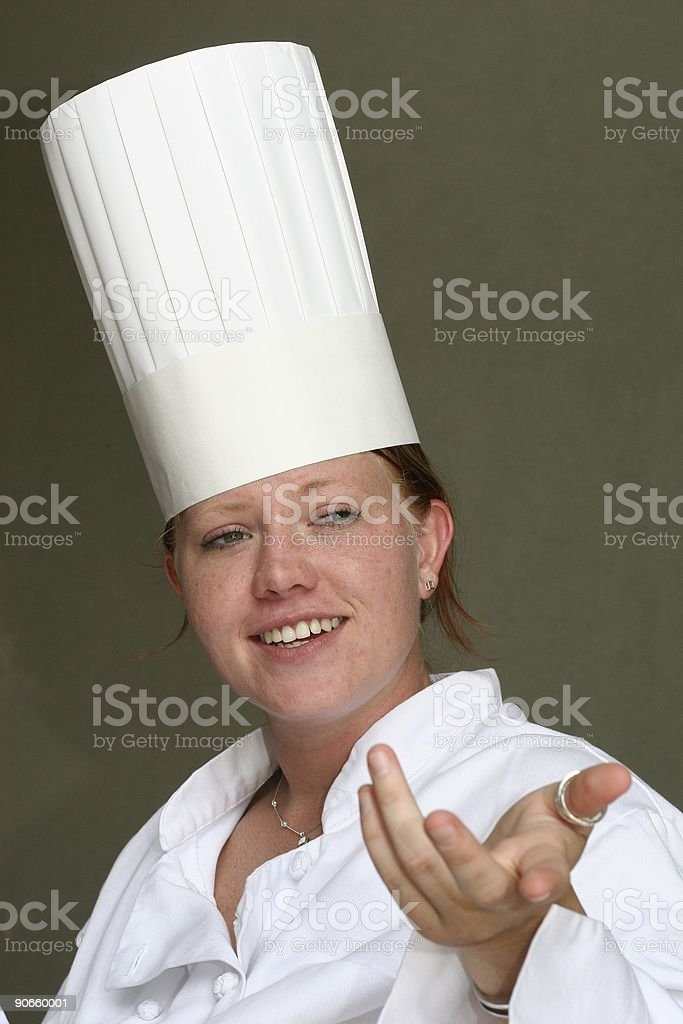 Chef Series - 11 royalty-free stock photo
