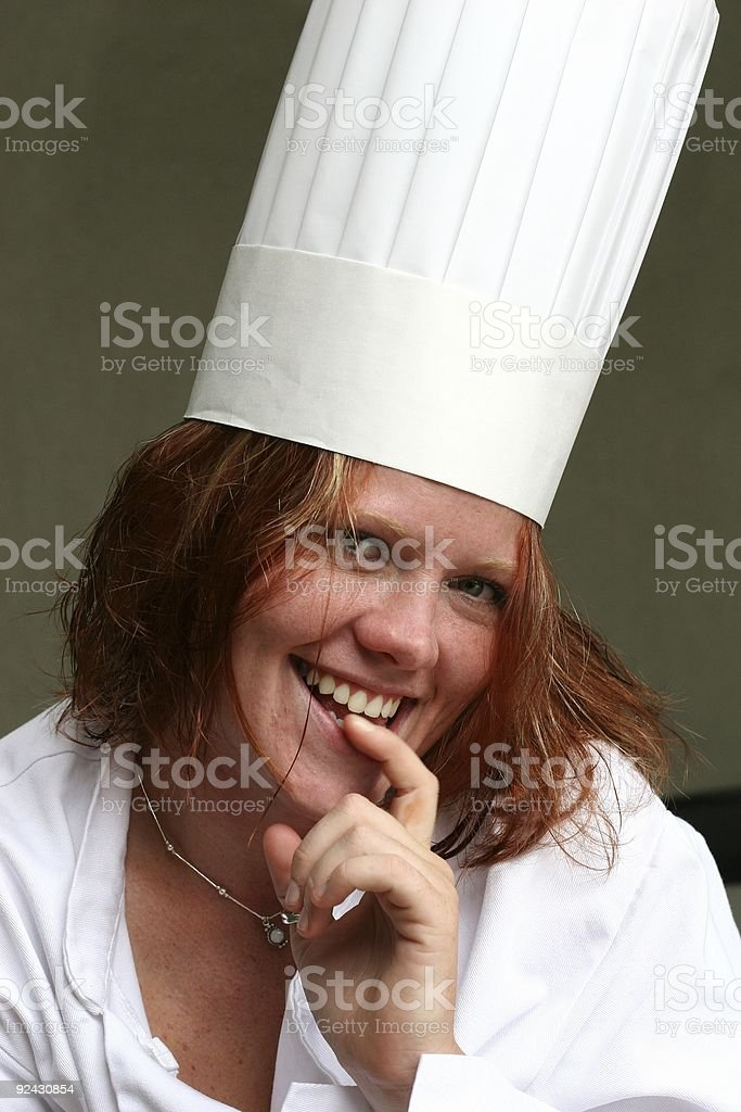 Chef Series - 5 stock photo