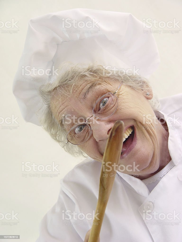 chef series - what's cookin royalty-free stock photo