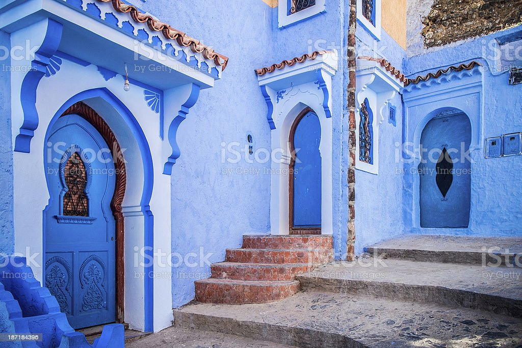 Chefchaouen, Morocco royalty-free stock photo
