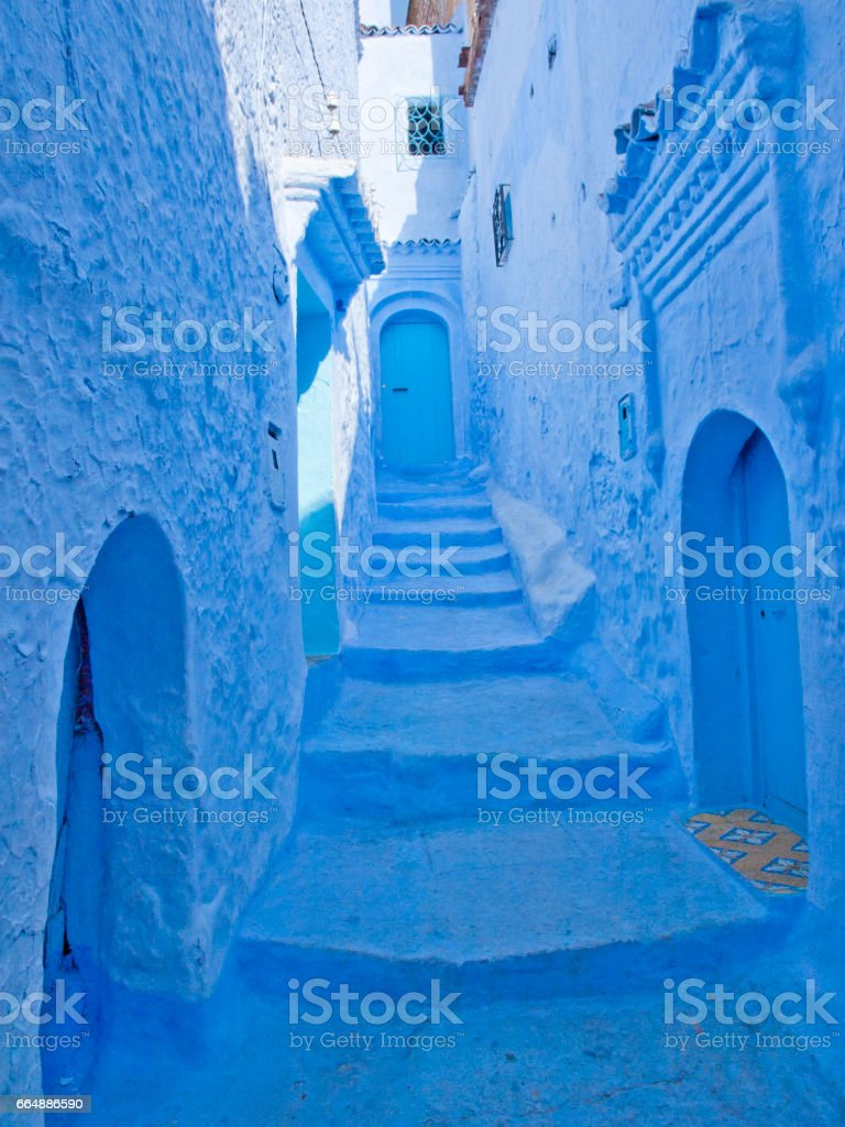 Chefchaouen, Morocco foto stock royalty-free